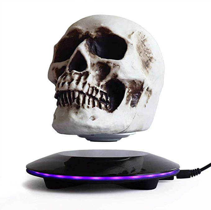 Magnetic Levitating Levitate Skull