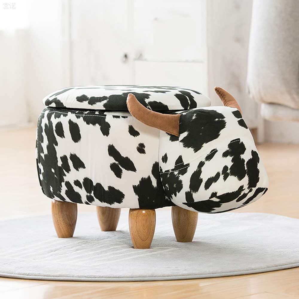 Cute Animal Storage Ottoman