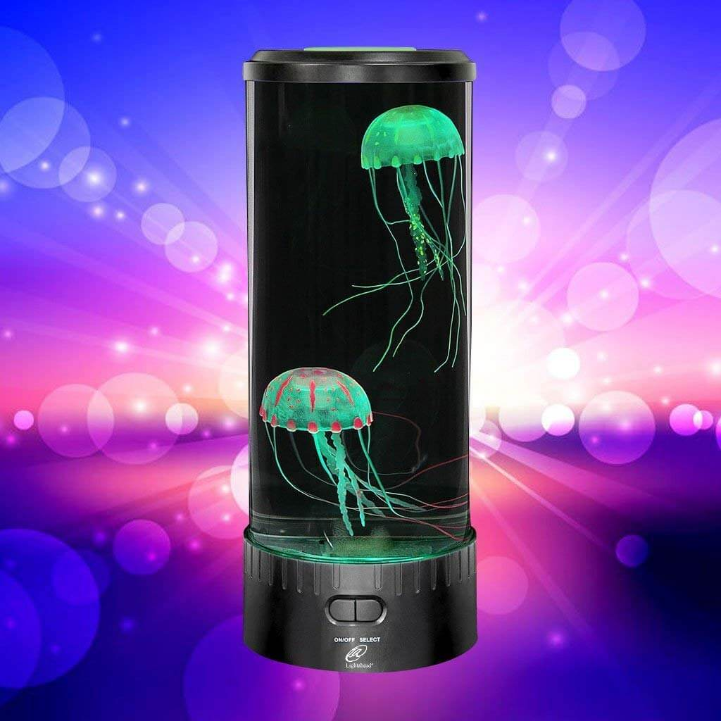 Jellyfish Lamp Round with 5 Color Changing Light