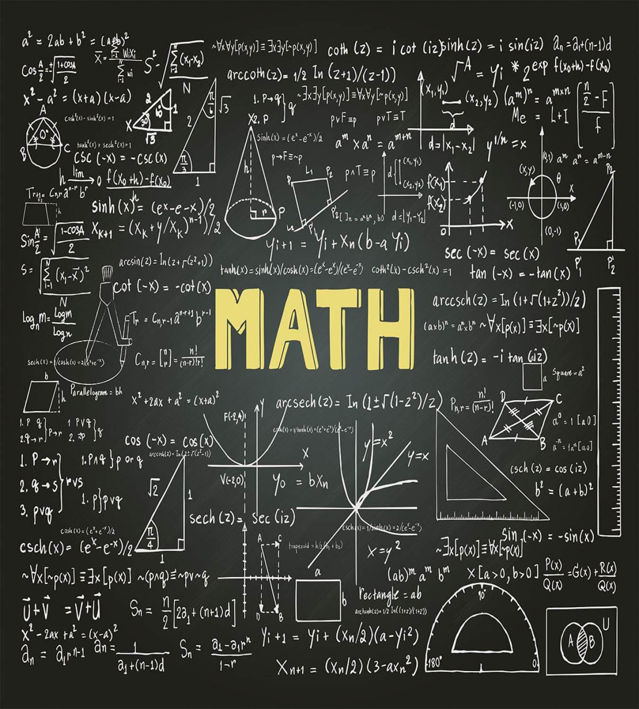 Mathematics Duvet Cover