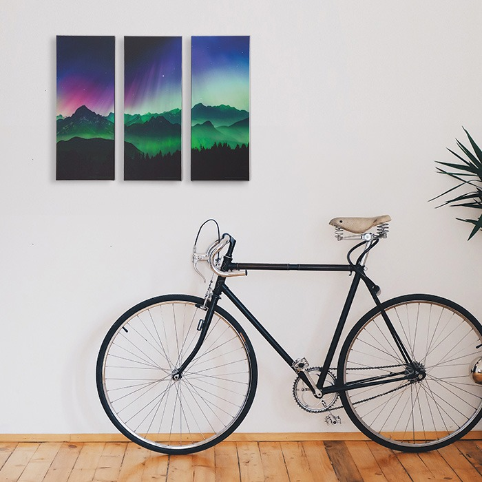 Aurora Borealis Canvas Art