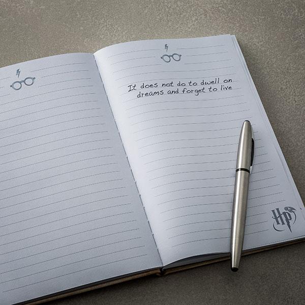 Harry Potter Lenticular Movement Notebook