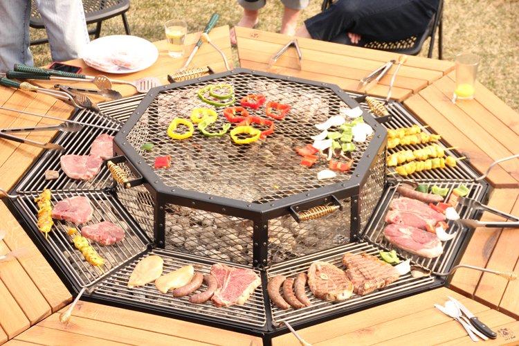 JAG Octagonal Table Grill