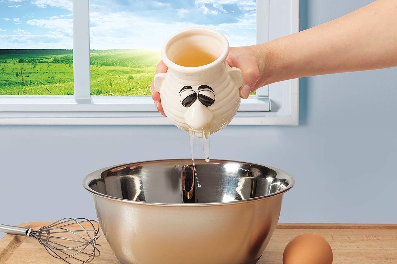 Mr. Sneezy Egg Separator