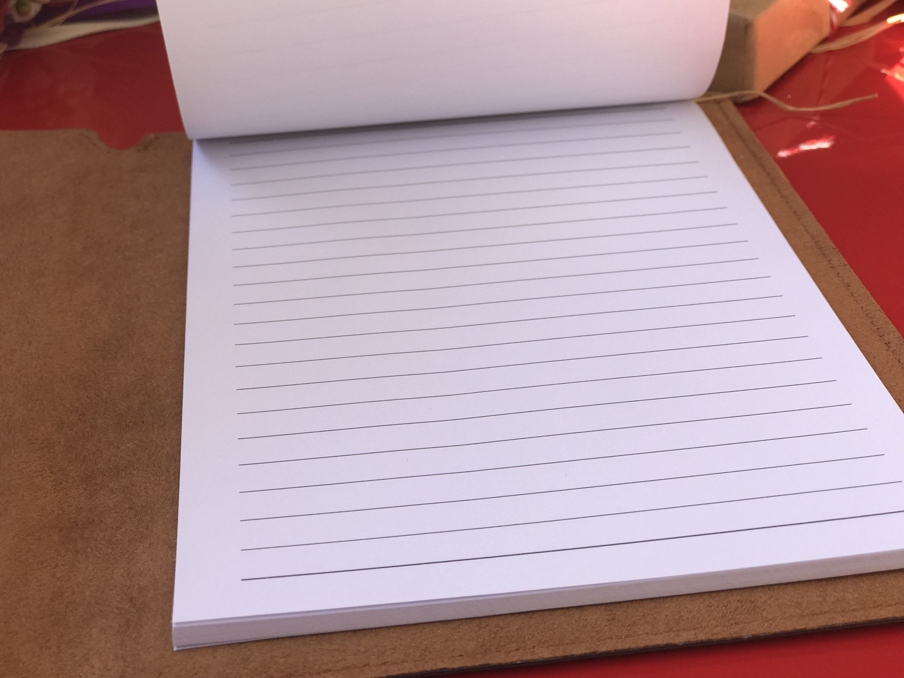 Personalized Leather Journal and Portfolio