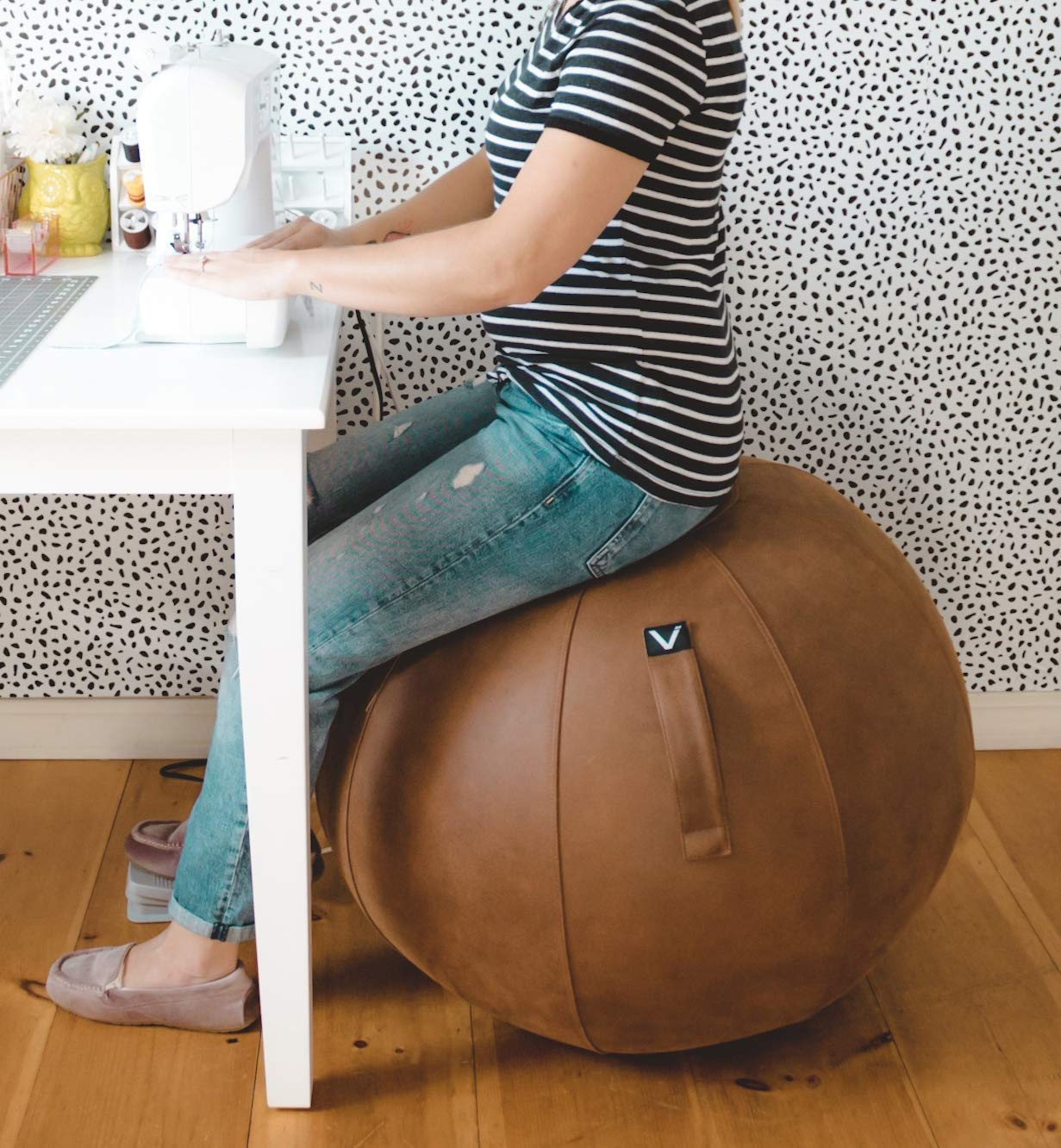 Sitting Ball Chair for Office and Home