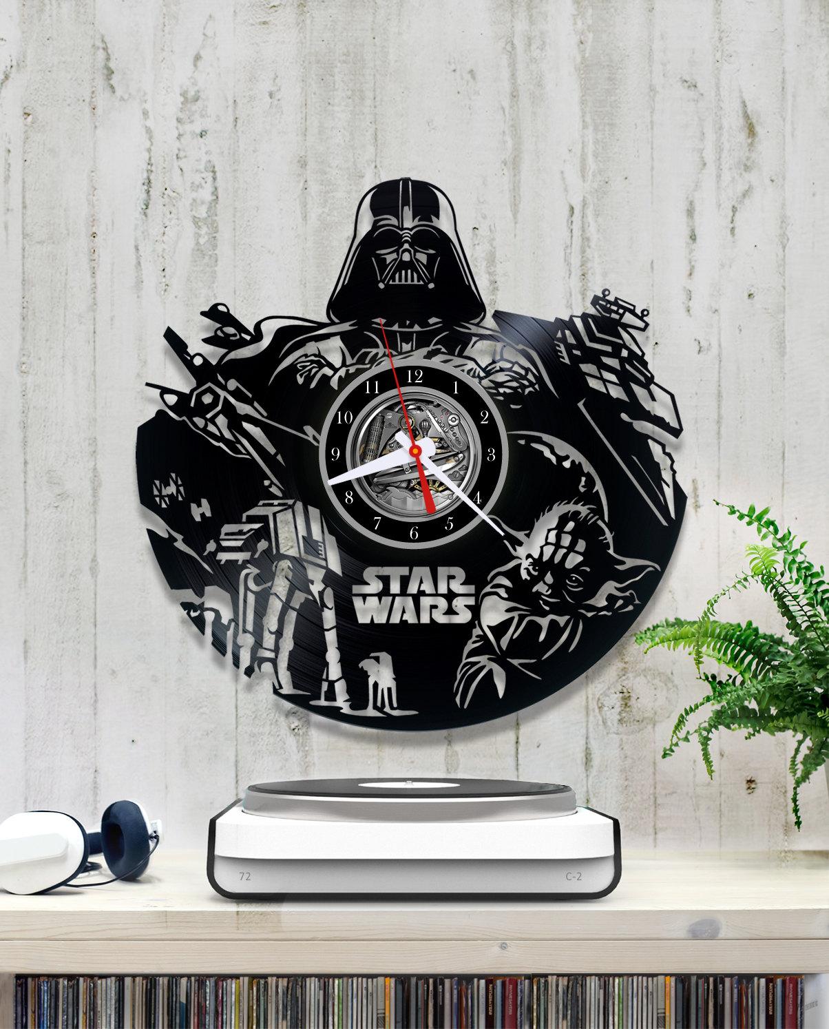 Star Wars Darth Vader Vinyl Clock