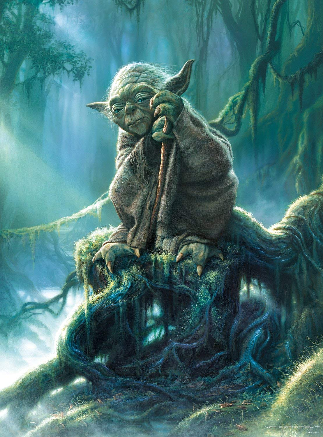 Star Wars Yoda 1000 Piece Jigsaw Puzzle
