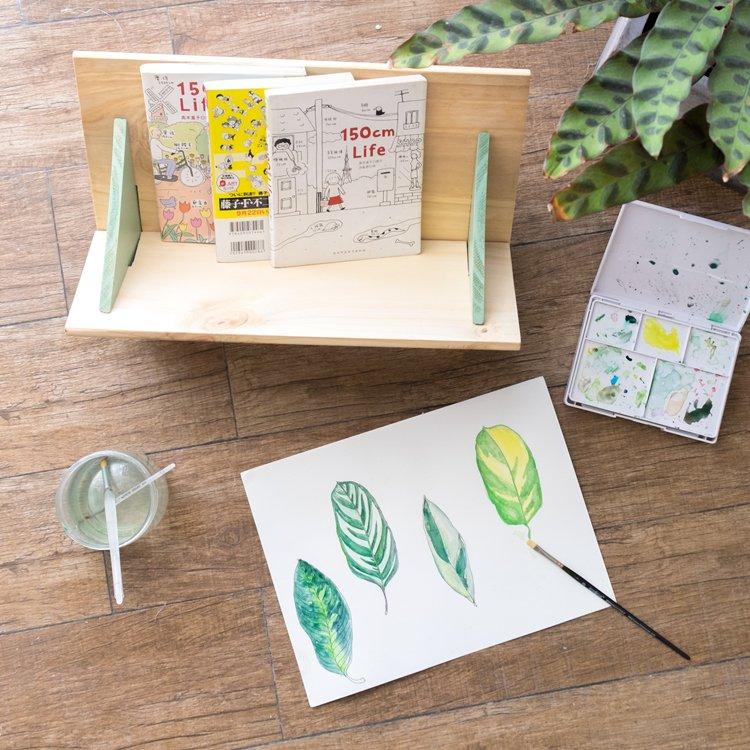 Wooden Tabletop Bookshelf Bookcase