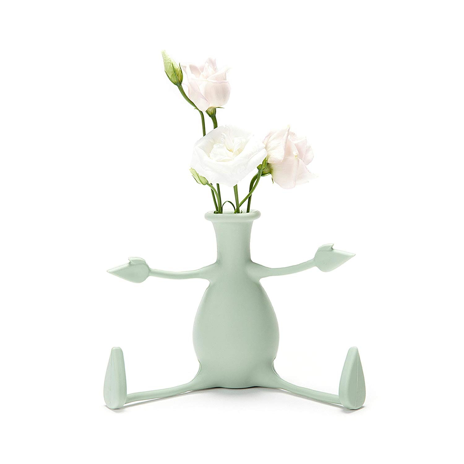 Florino Mint Rubbery Flower Vase
