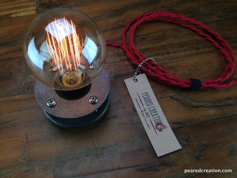Edison Bulb Light Minimalist Lamp