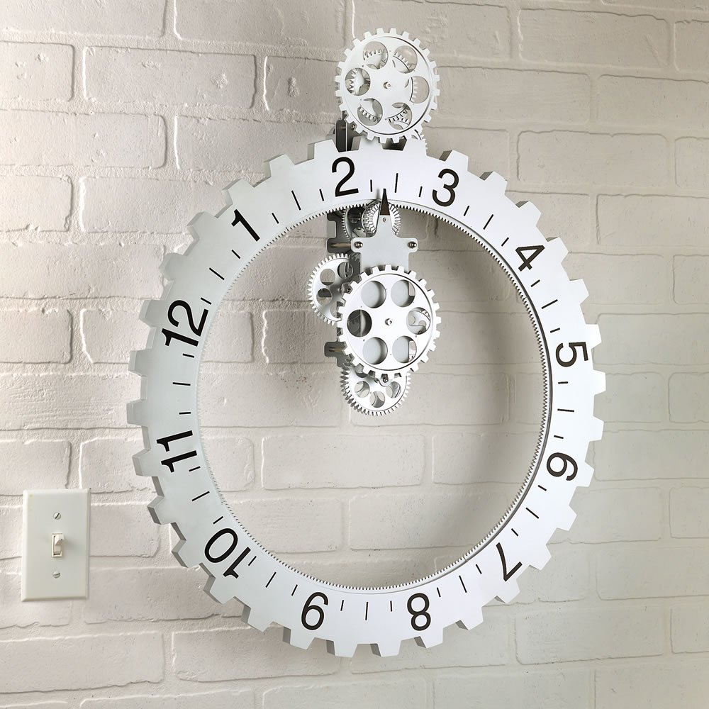 Hands Free Gear Clock