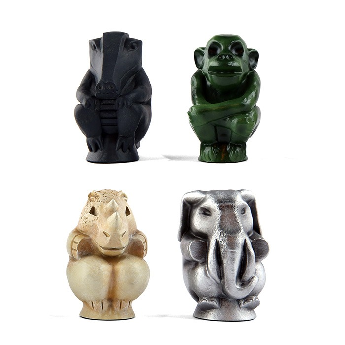 Jumanji Game Piece Statue Set