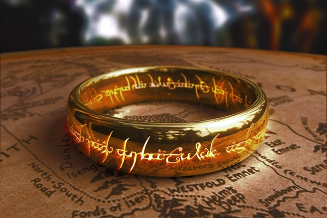 Lord of the Rings – The One Ring Key Chain