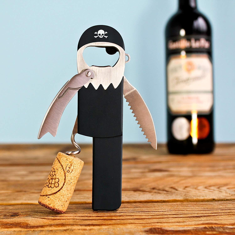 Pirate Beer & Wine Bottle Opener