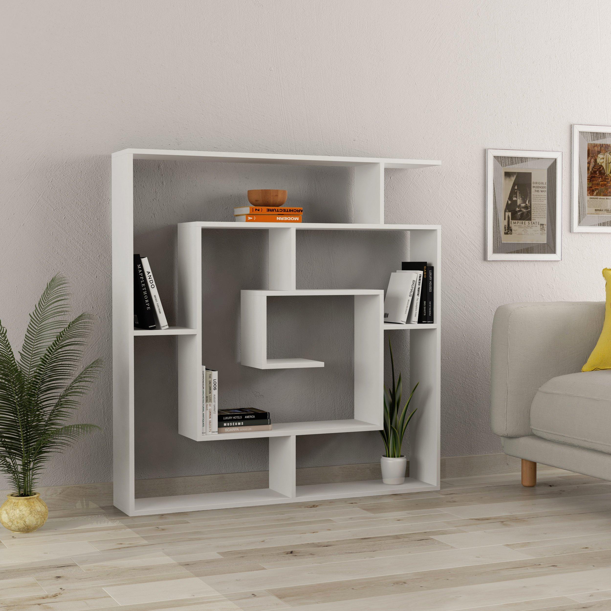 Asymmetrical Spiral Bookcase