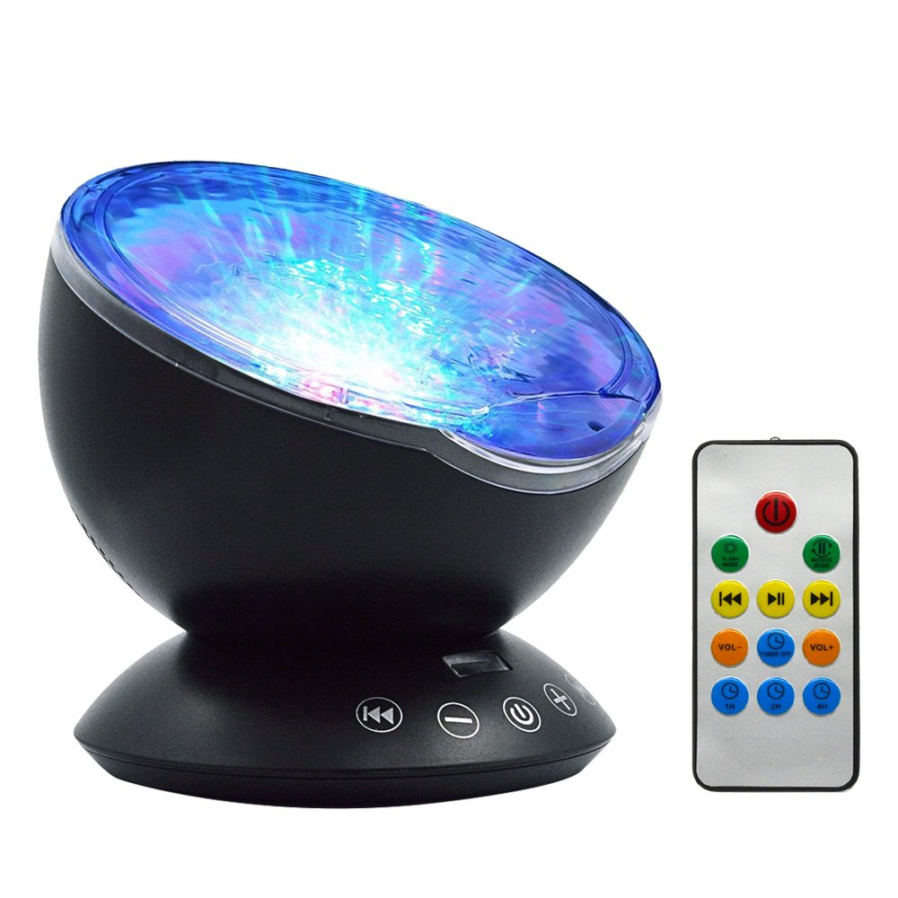 Ocean Wave Nightlight Projector