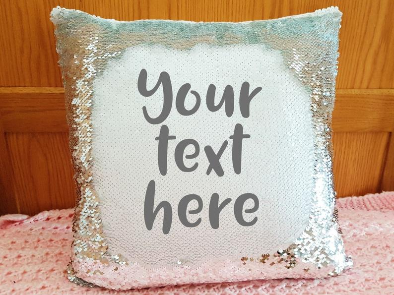 Customized Secret Message Cushion Cover