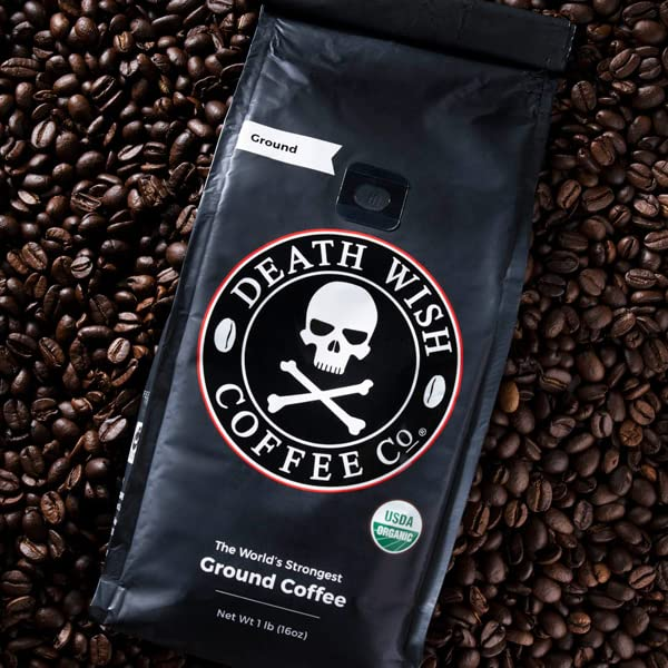 Death wish the strongest coffee in the world