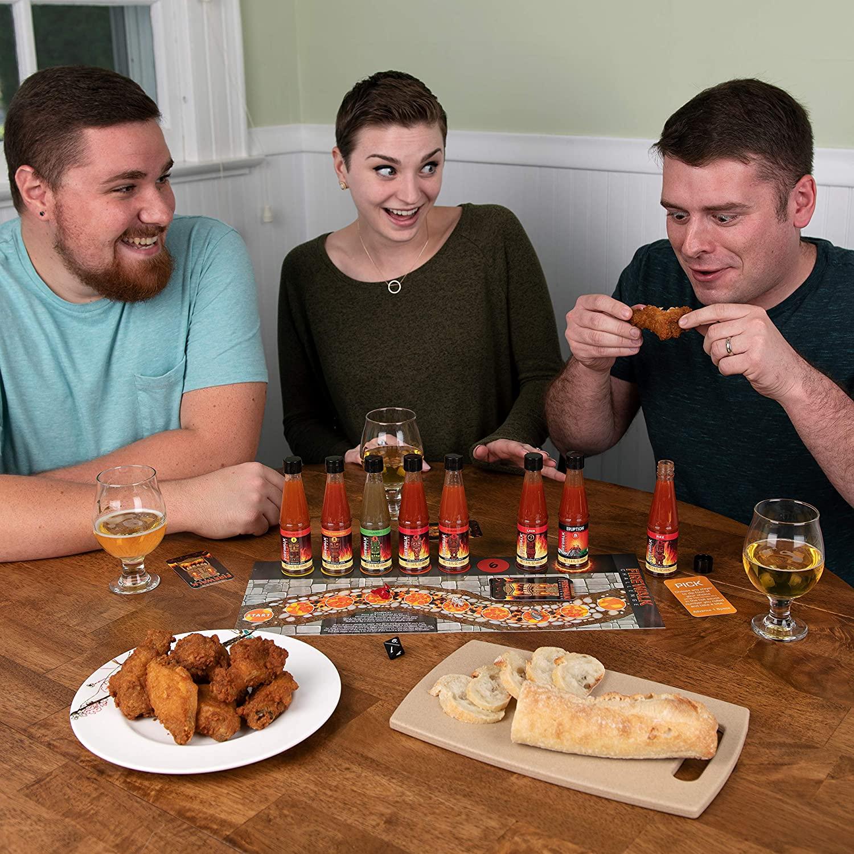Hot Sauce Challenge Game Set