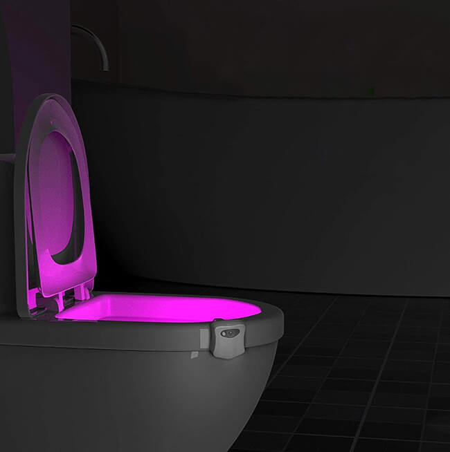 LED Toilet Light with Motion Detection