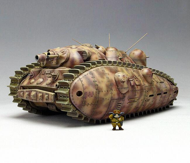 Villain Tank #1 by Hayao Miyazaki