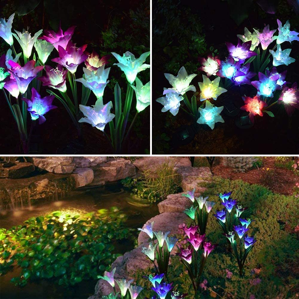 LED Garden Flowers