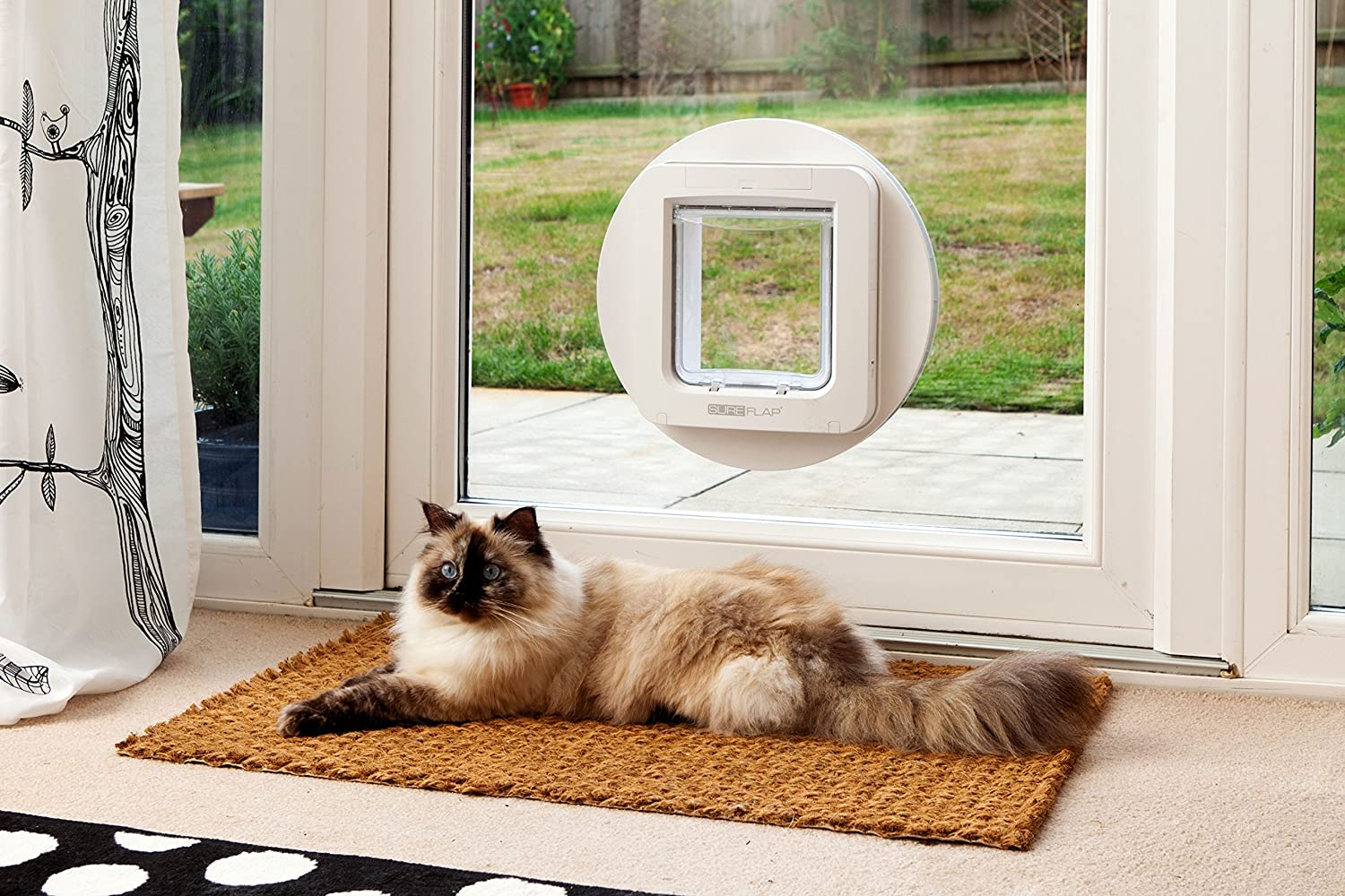 Pet Door with Sensor and Smart Chip