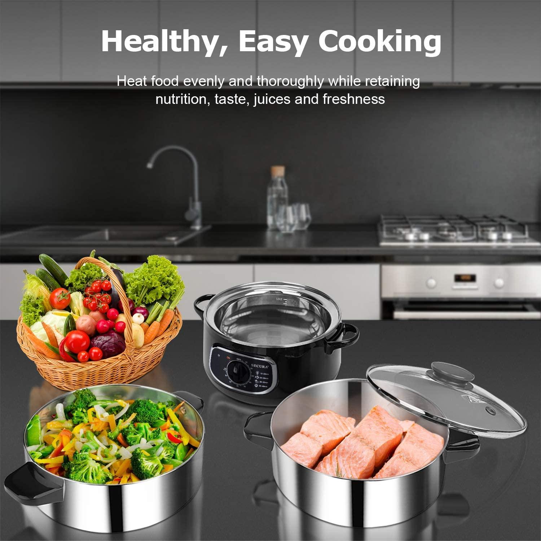 Secura 2 Stainless Steel Food Steamer