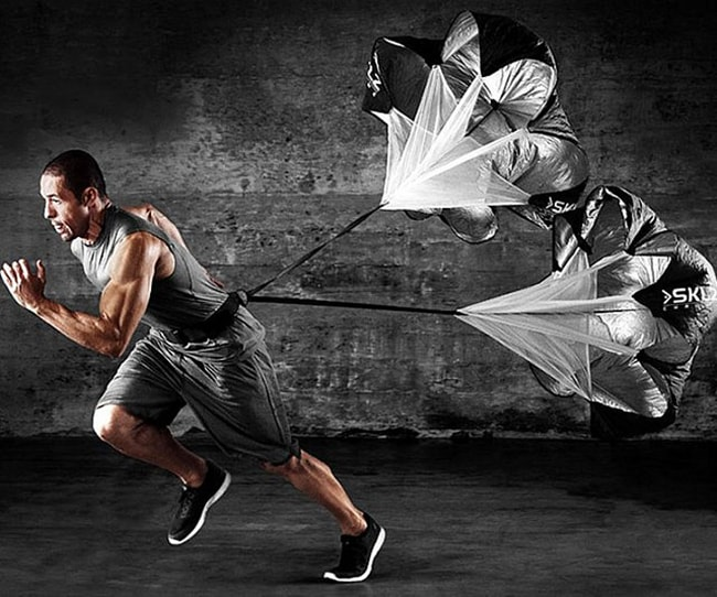 Sport Adjustable Parachute for Acceleration and Resistance Training