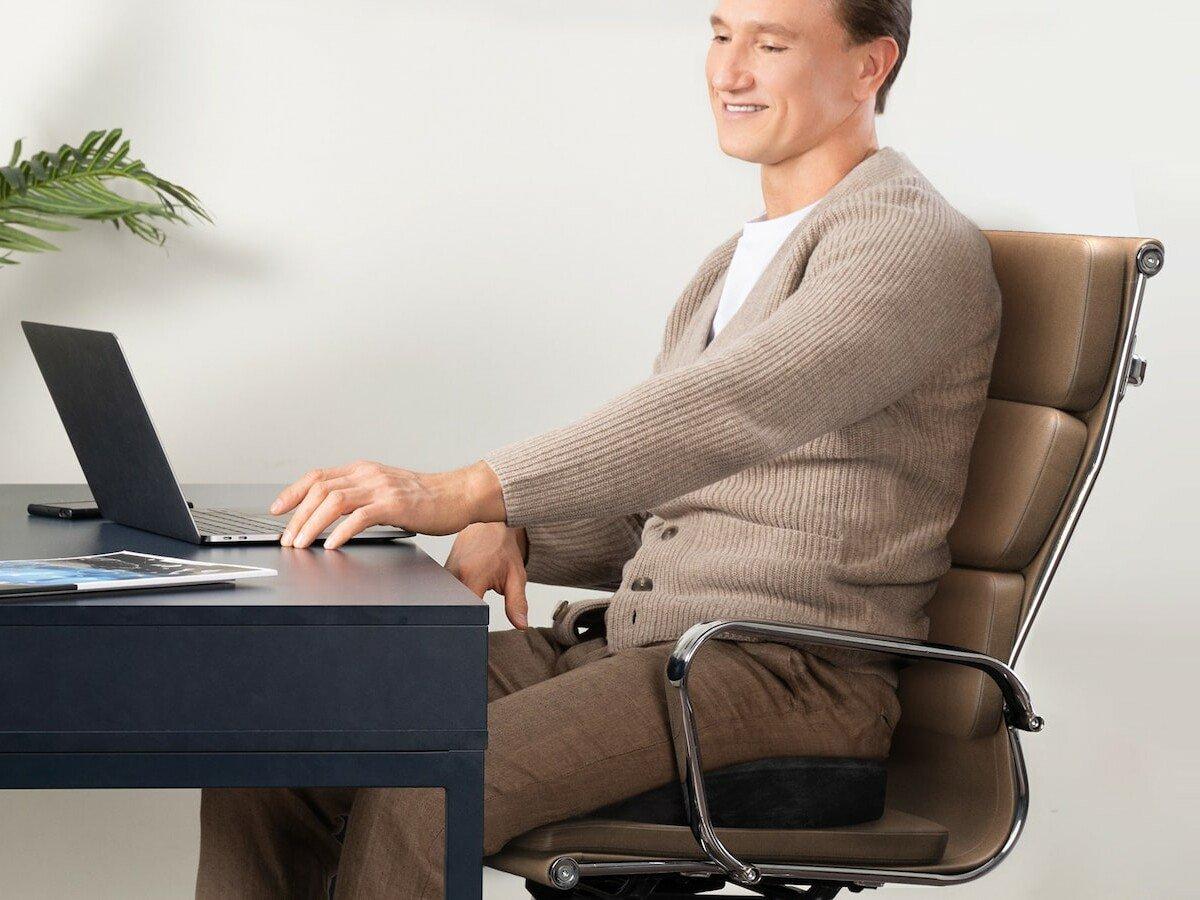 Everlasting Comfort Office Chair Seat Cushion