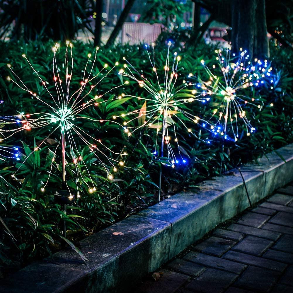 Garden Solar Firework Light